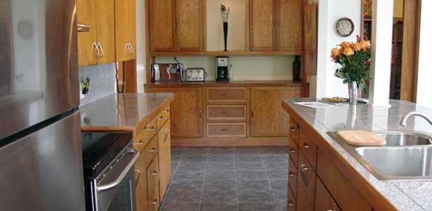 Beispiel der Küchenmontage beim Kunden